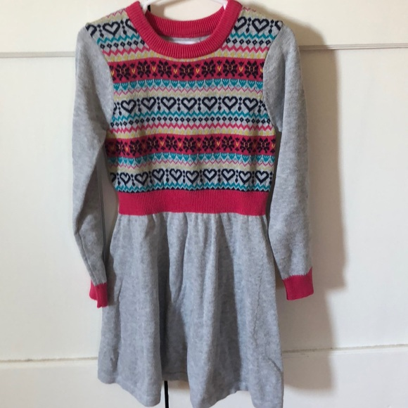 24f1cd71979a Epic Threads Other - Little girls sweater dress size 5